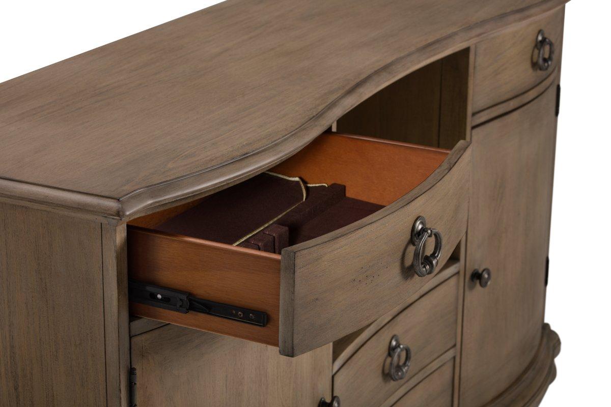 Haddie Light Tone Wood Server