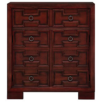 Petra Red Small Cabinet