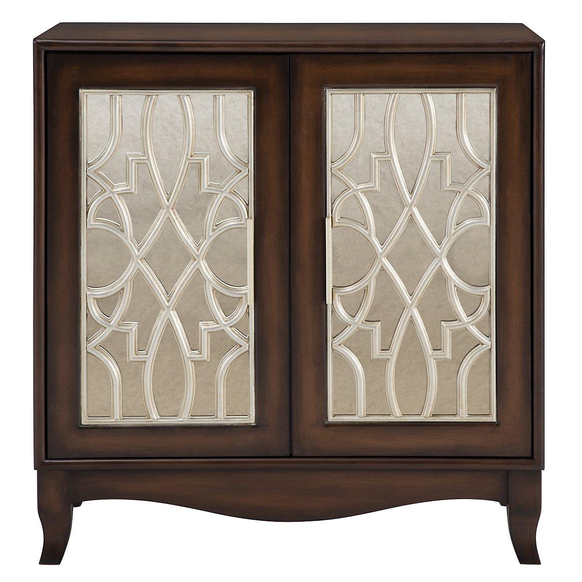 Marley Mid Tone Two-Door Cabinet