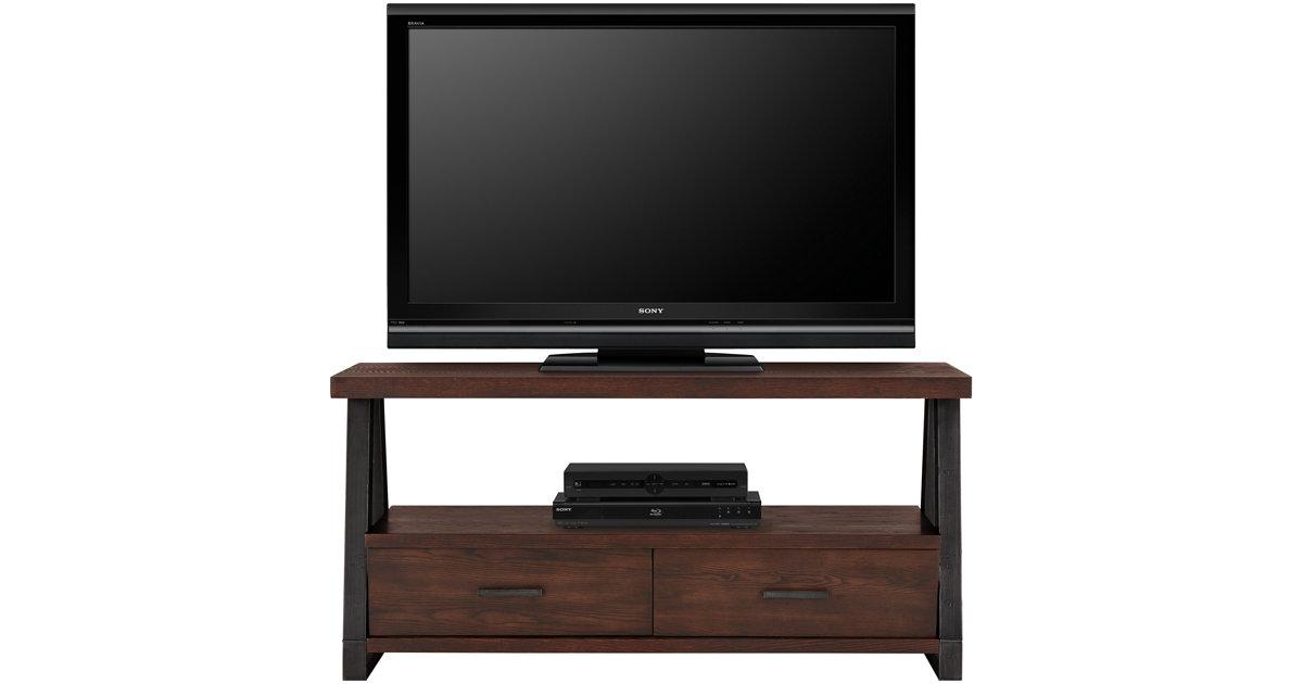 City Furniture Dakota Dark Tone Storage Tv Stand