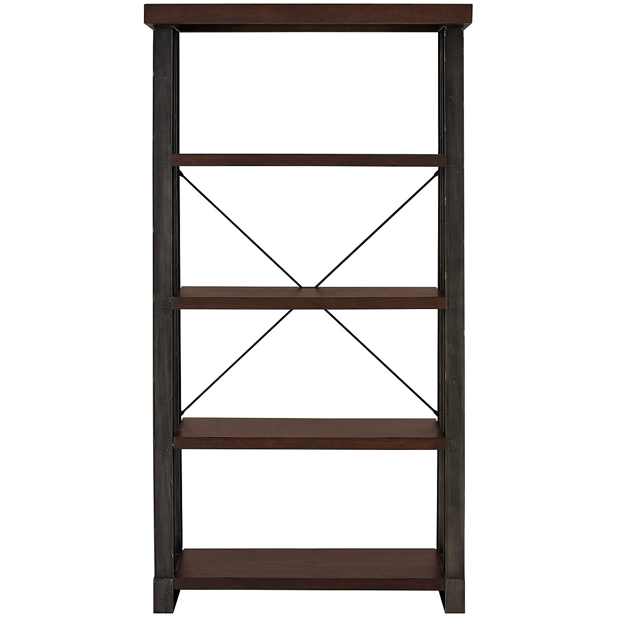Dakota Dark Tone Bookcase