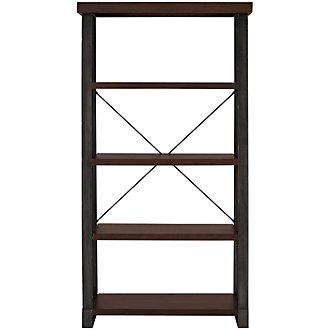 Dakota Dark Tone Bookcase
