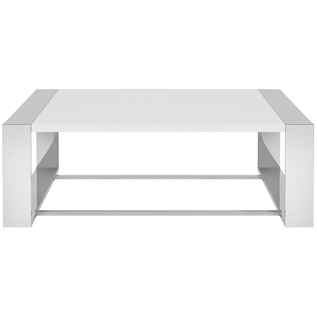 Neo White Square Coffee Table