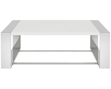 Neo White Square Coffee Table