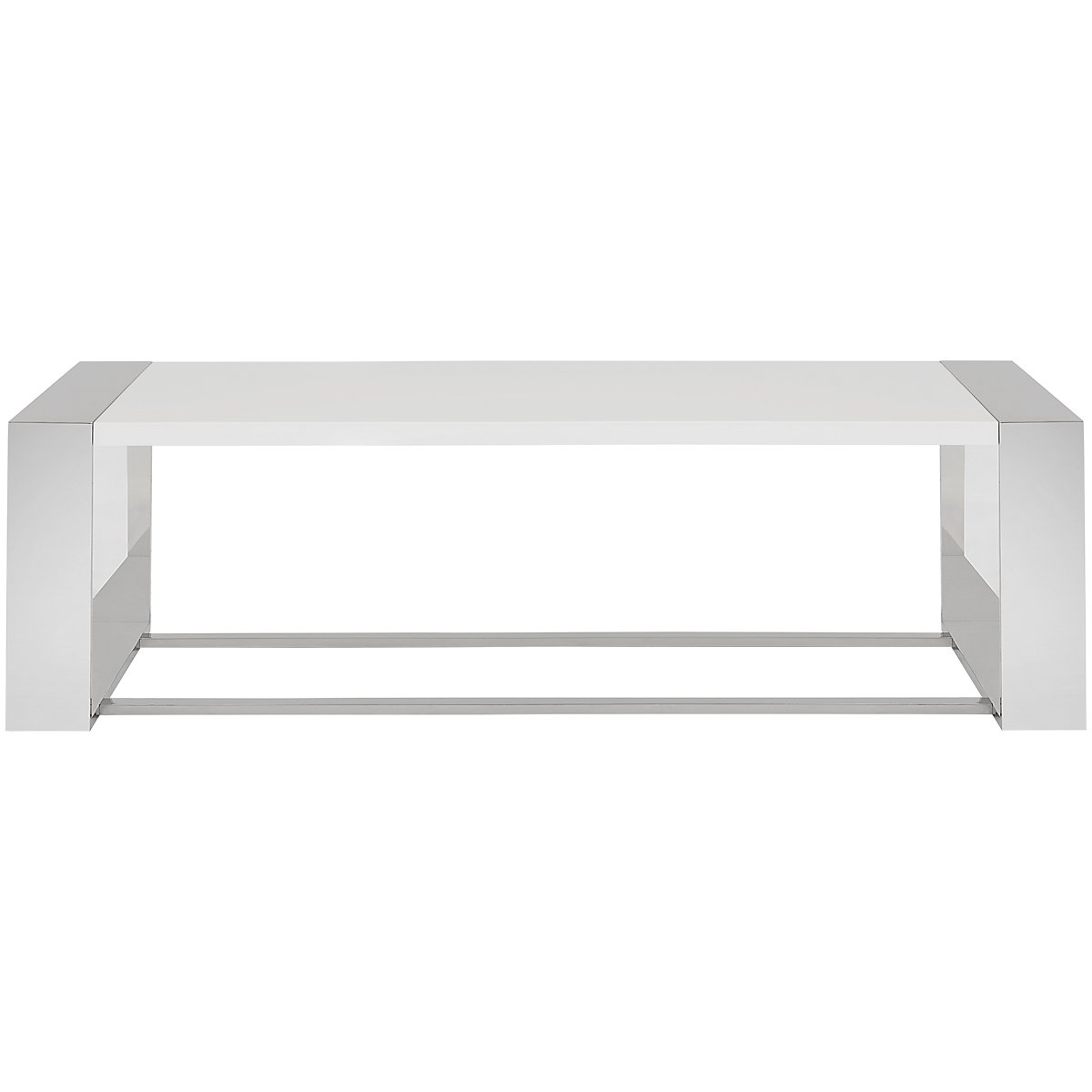 Neo White Rectangular Coffee Table