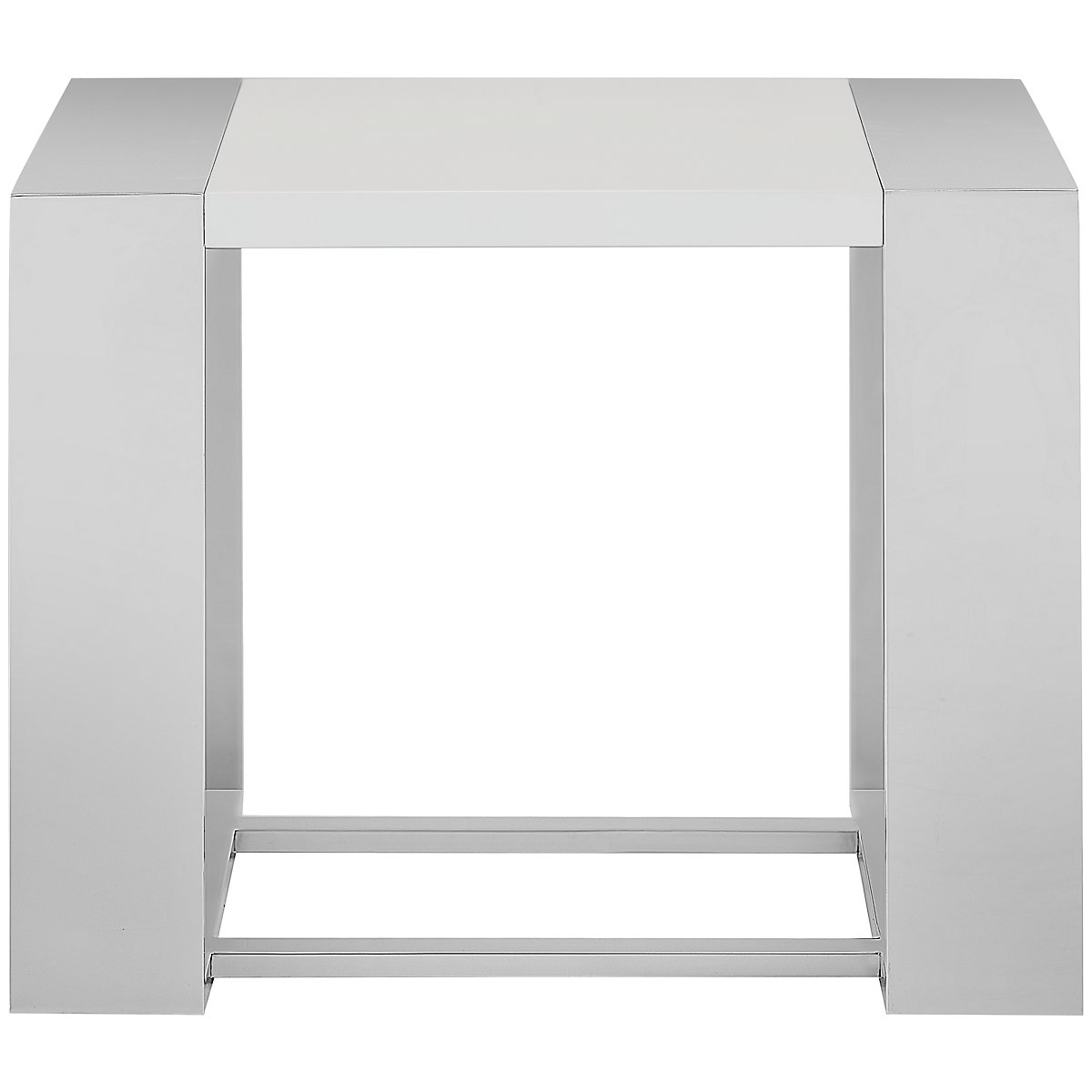 Neo White End Table