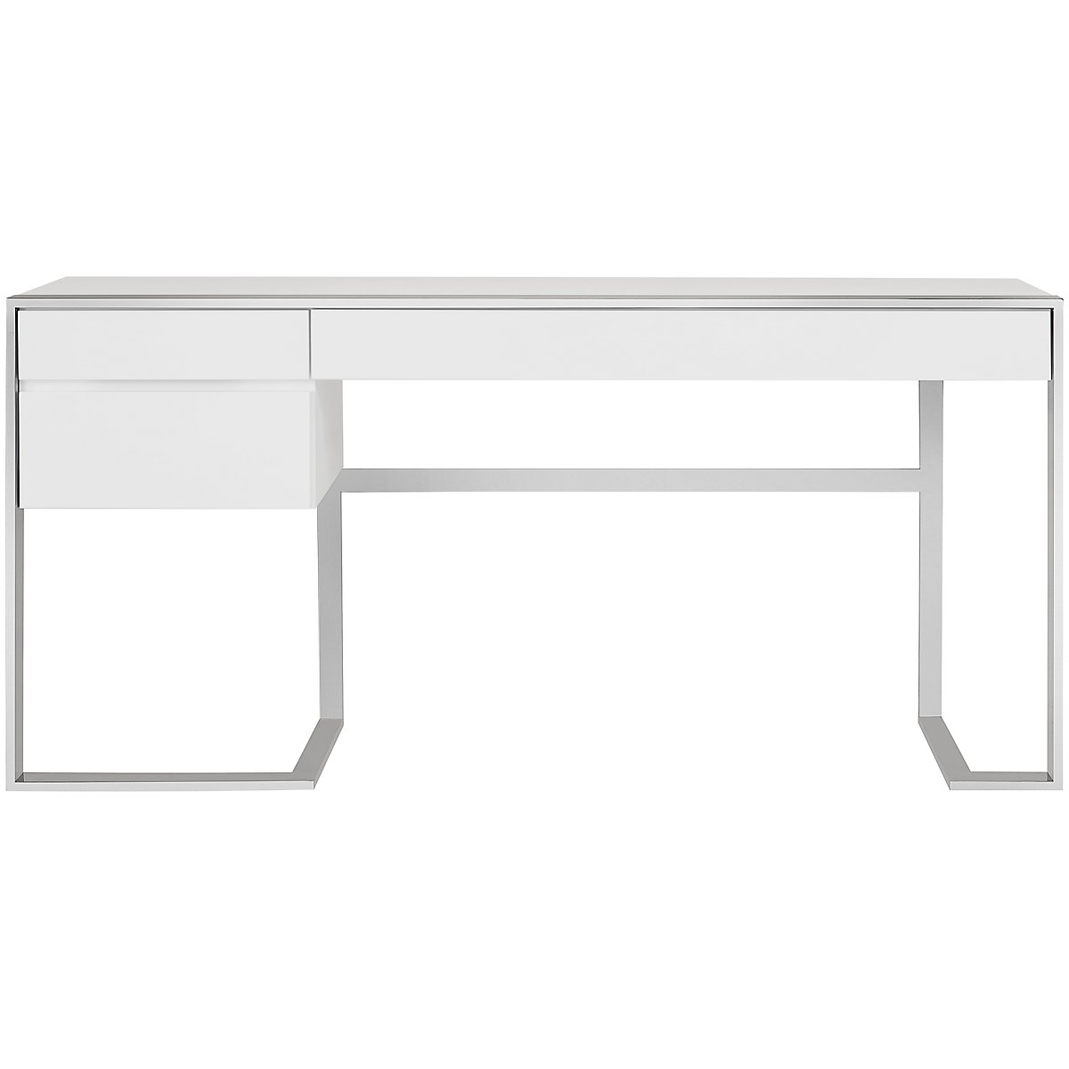 Neo White Wood Desk