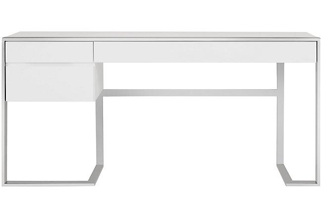 Neo White Wood Desk