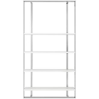 Neo White Large Bookcase