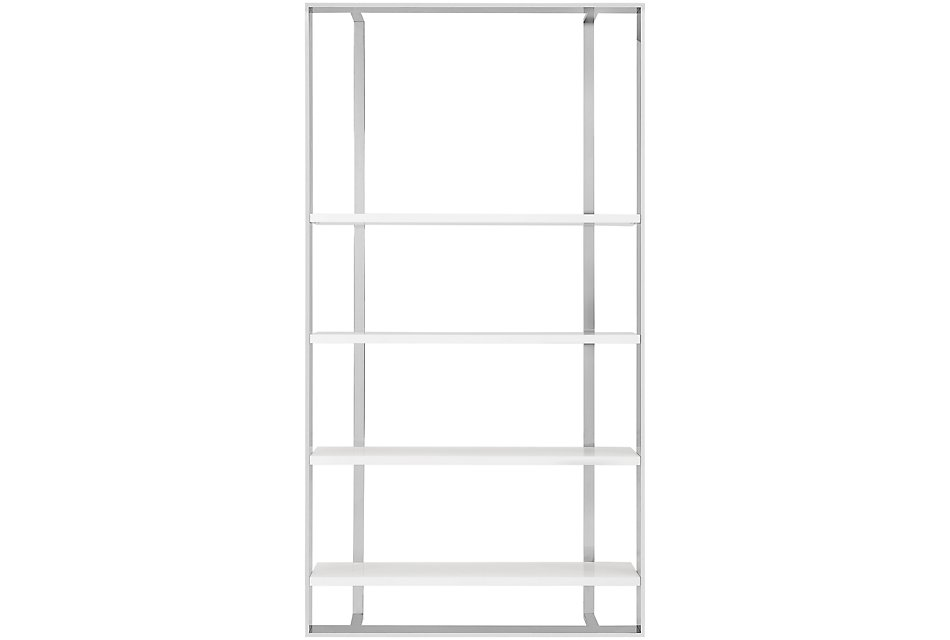 Neo White Large Bookcase