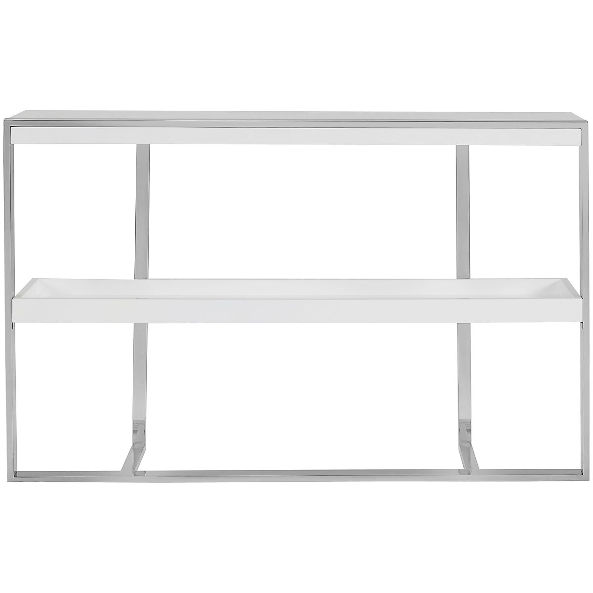 Neo White Small Bookcase