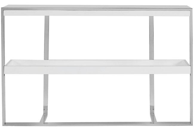 Neo White Metal Bookcase