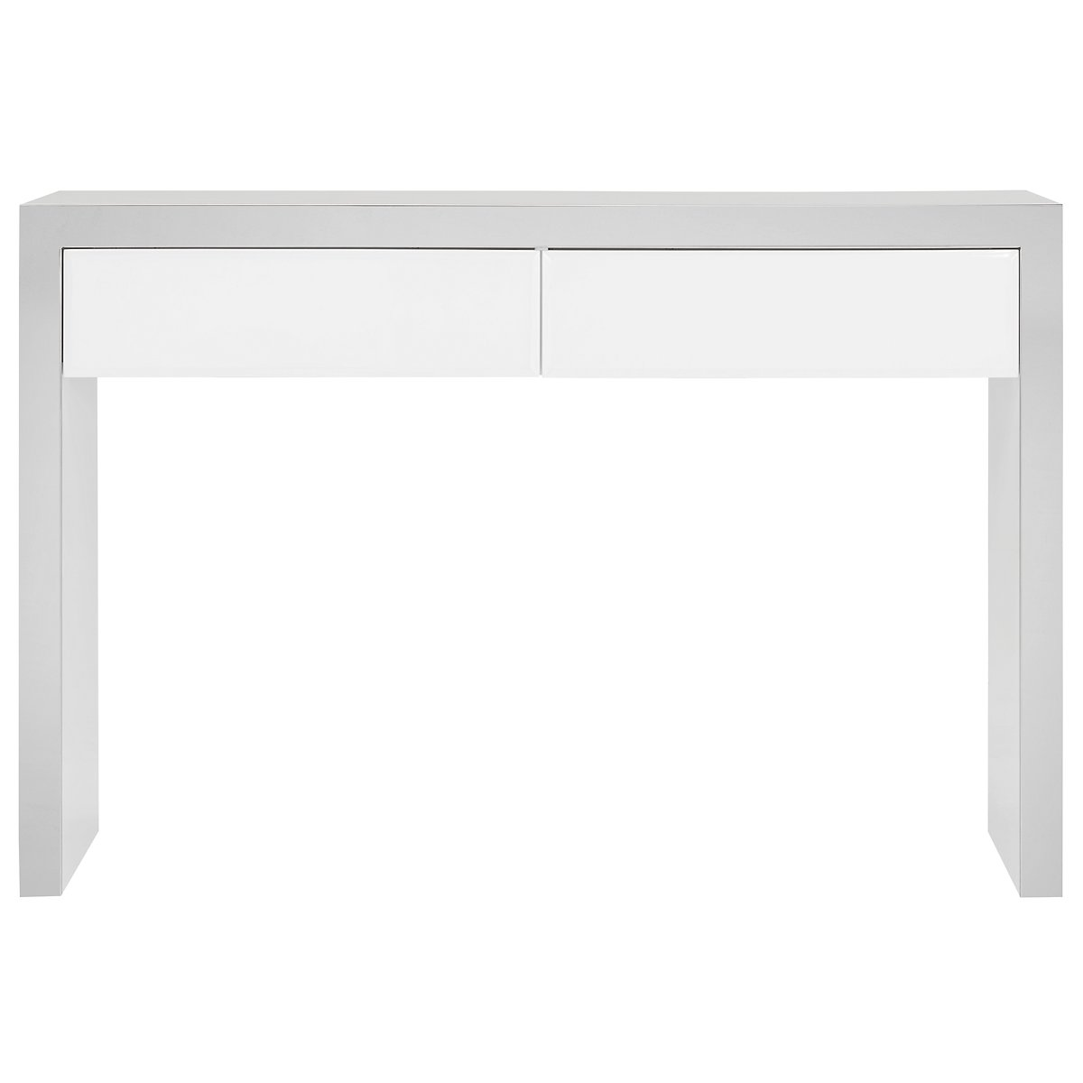 Dane White Console Table