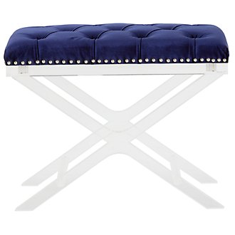 Allura Blue Bench