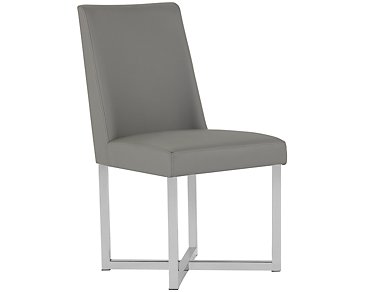 Howard Gray Upholstered Side Chair