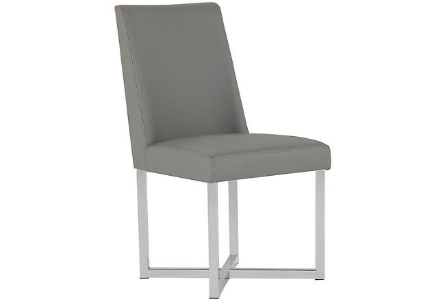 Howard Gray Upholstered Upholstered Side Chair