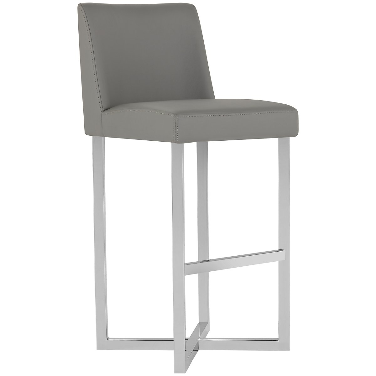 "Howard Gray Upholstered 30"" Upholstered Barstool"