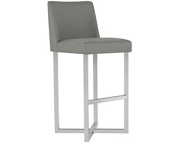 "Howard Gray 30"" Upholstered Barstool"