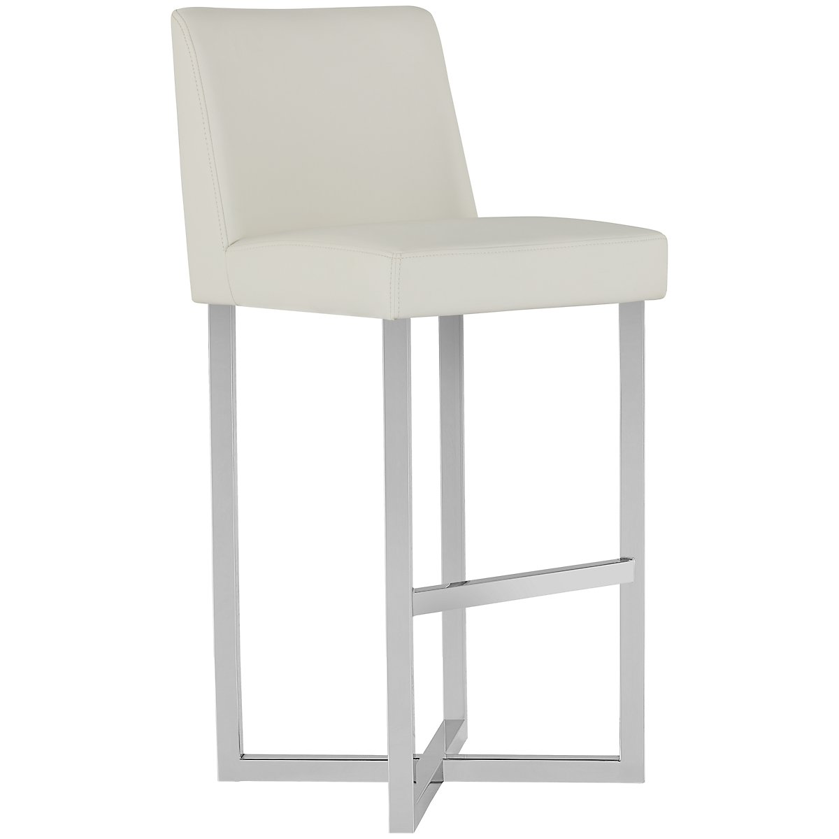 "Howard White Upholstered 30"" Upholstered Barstool"