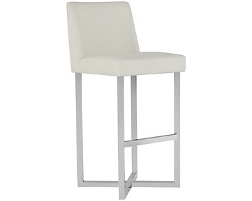 "Howard White 30"" Upholstered Barstool"