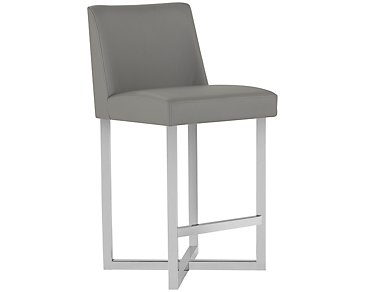 "Howard Gray 24"" Upholstered Barstool"