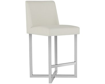"Howard White 24"" Upholstered Barstool"