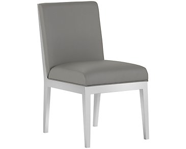 Neo Gray Upholstered Side Chair
