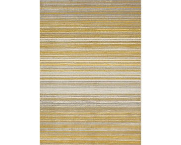 Safi Yellow 5X8 Area Rug
