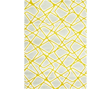 Salina Yellow 8X10 Area Rug
