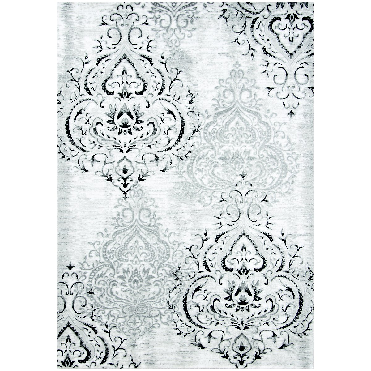 Bella White 8X10 Area Rug