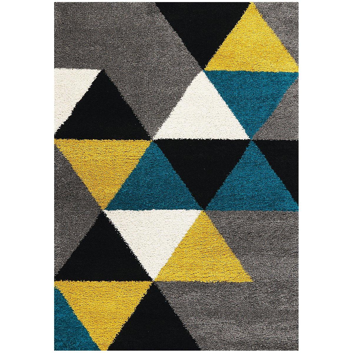 Maroq Multicolored 5X8 Area Rug