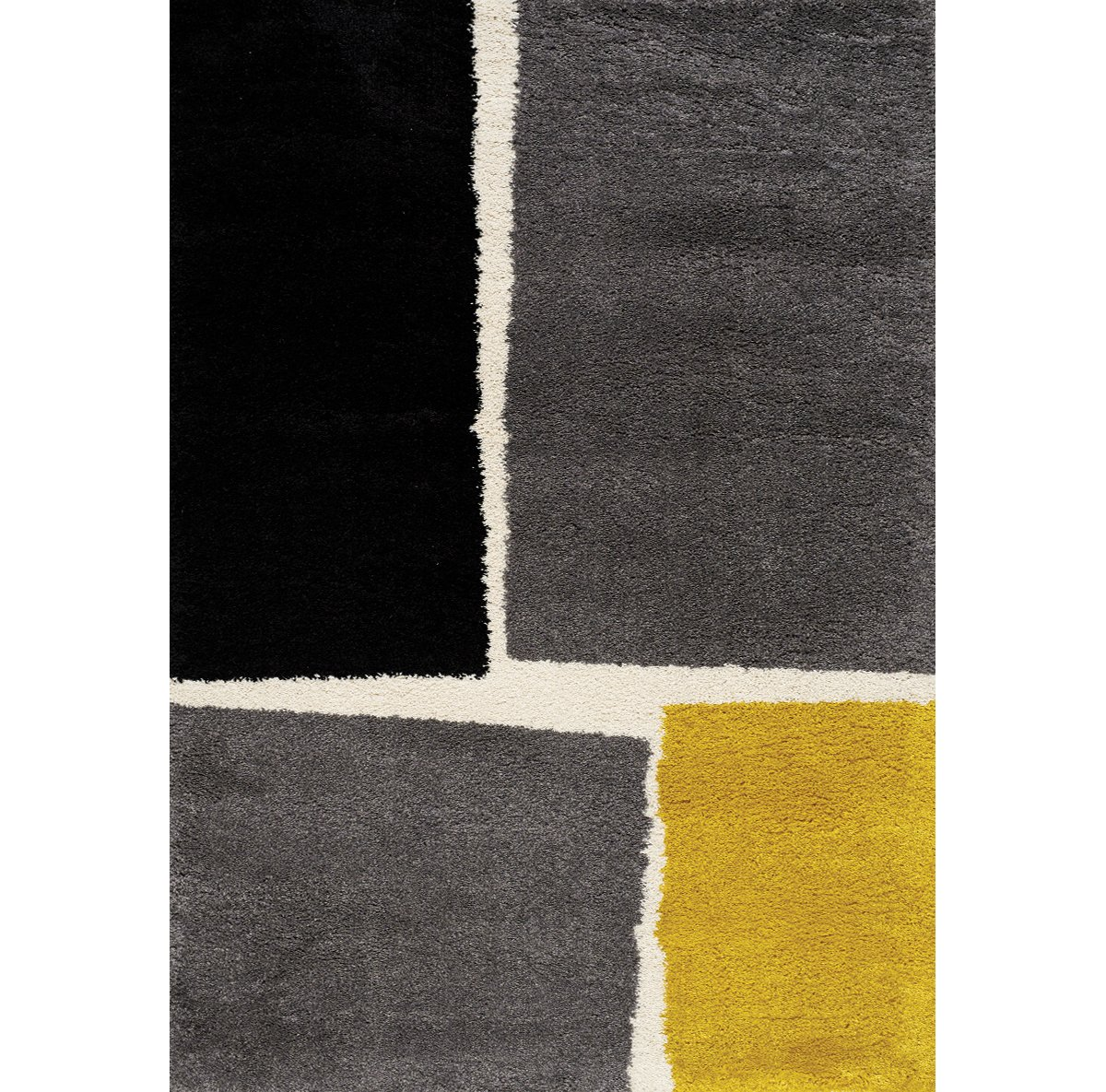 Marona Yellow Poly 5x8 Area Rug