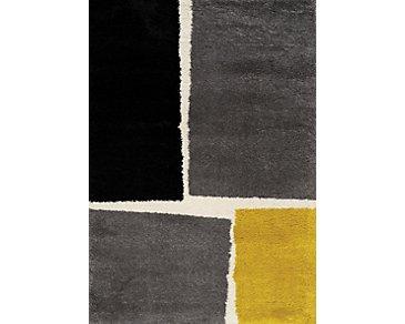 Marona Yellow 8X10 Area Rug