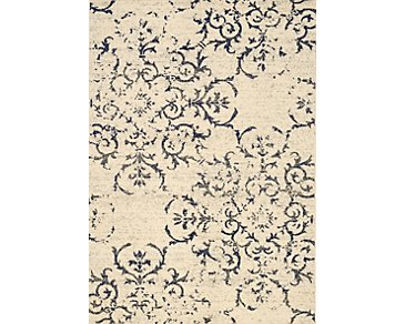 Logan Light Beige 5X8 Area Rug