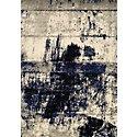 Logan Dark Blue 5x8 Area Rug