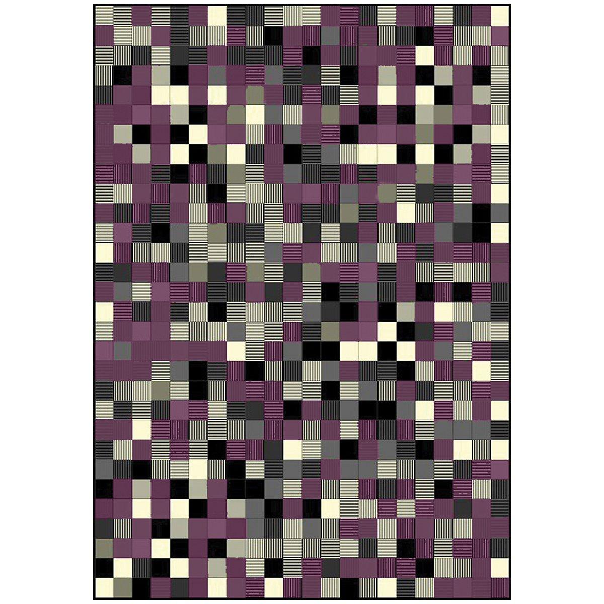 Faira Purple 5X7 Area Rug