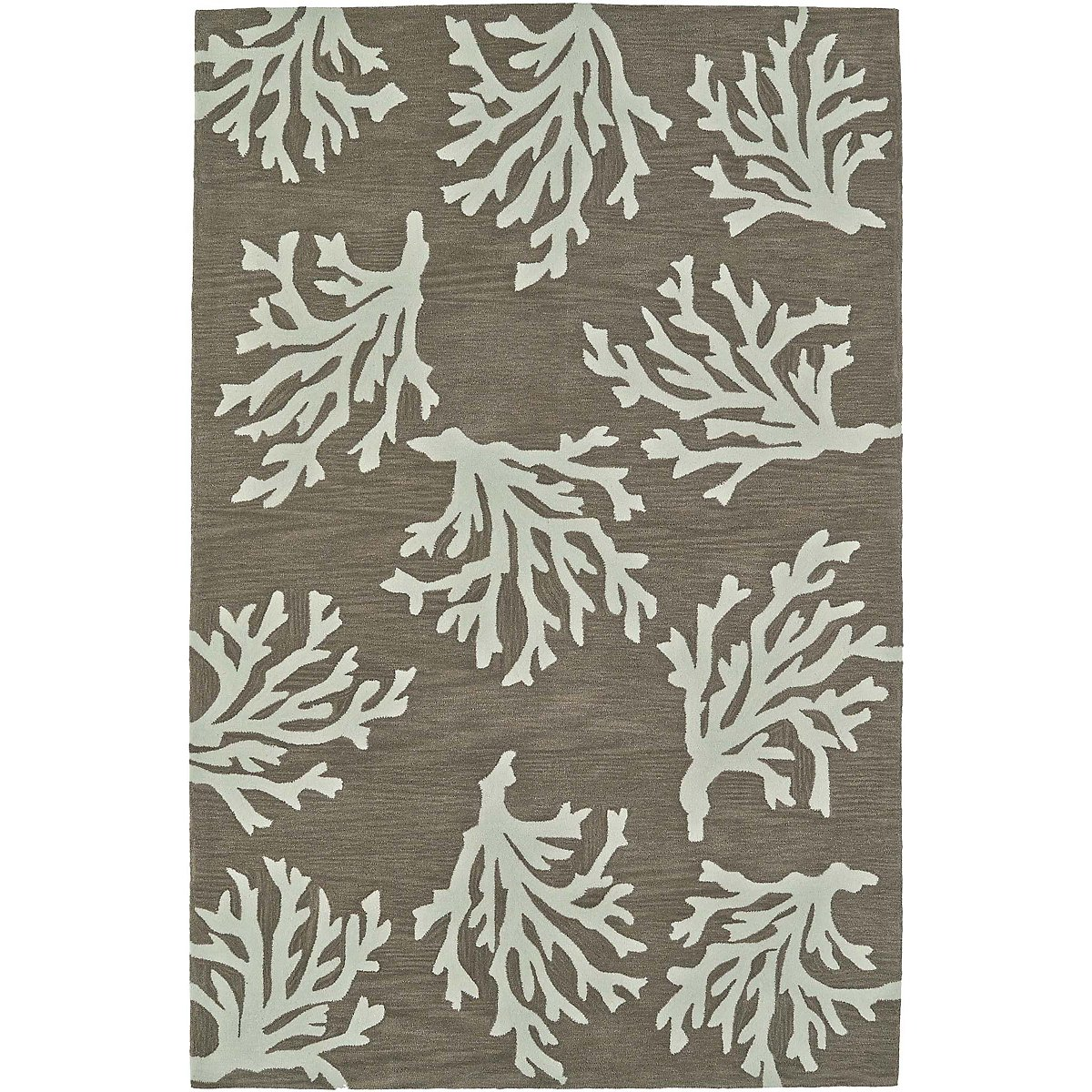 Seaside Khaki 5x8 Area Rug