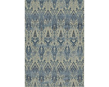 Geneva Blue 5X8 Area Rug