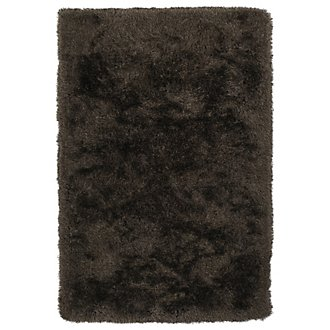 Impact Dark Brown 5X8 Area Rug