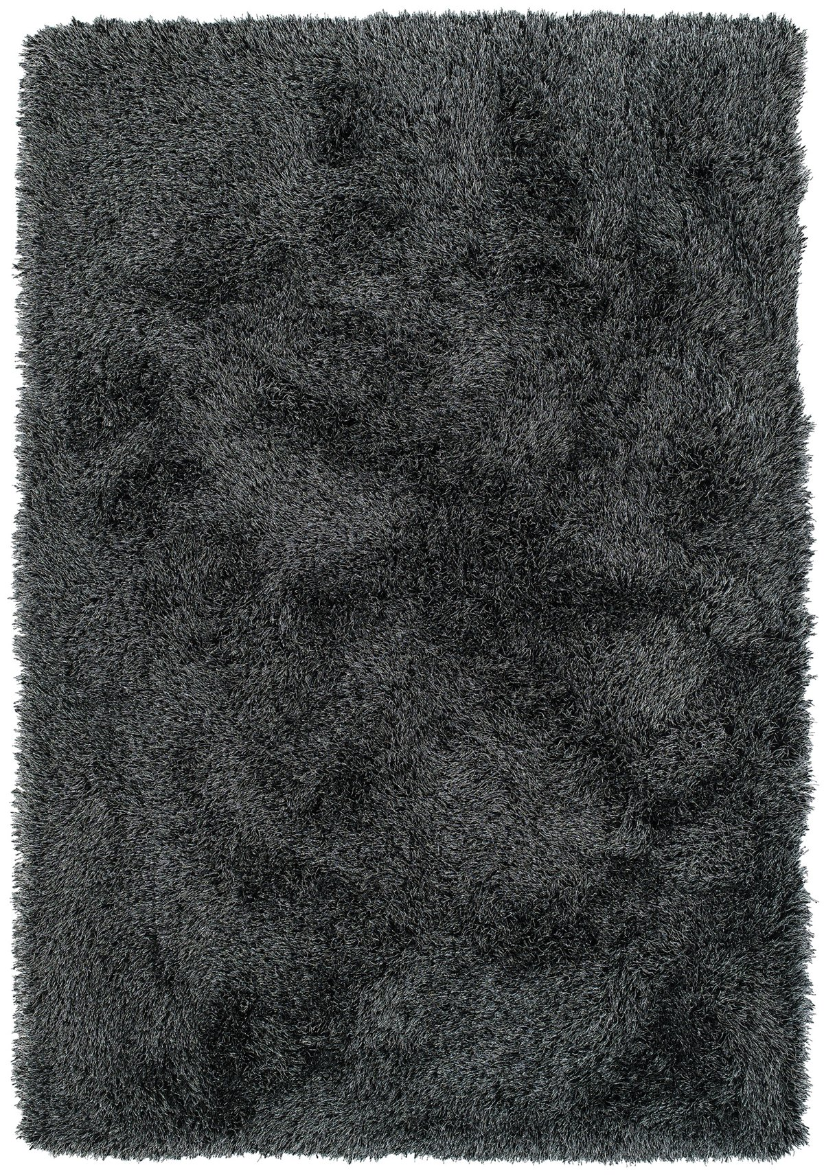 Impact Black Poly 8x10 Area Rug