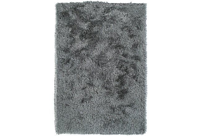 Impact Gray Poly 8x10 Area Rug