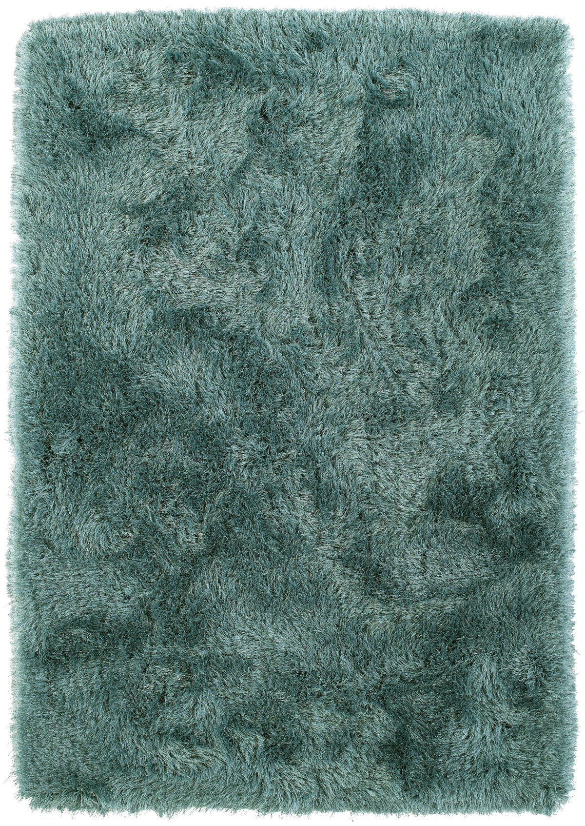 Impact Teal Poly 8x10 Area Rug