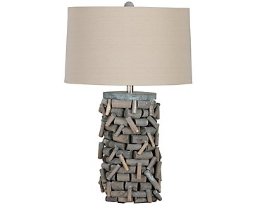 Twig Branch Wood Table Lamp