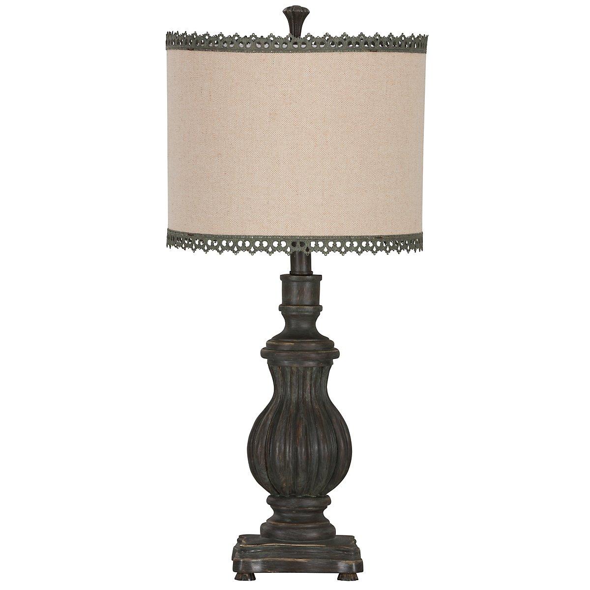 Bristol Gray Table Lamp