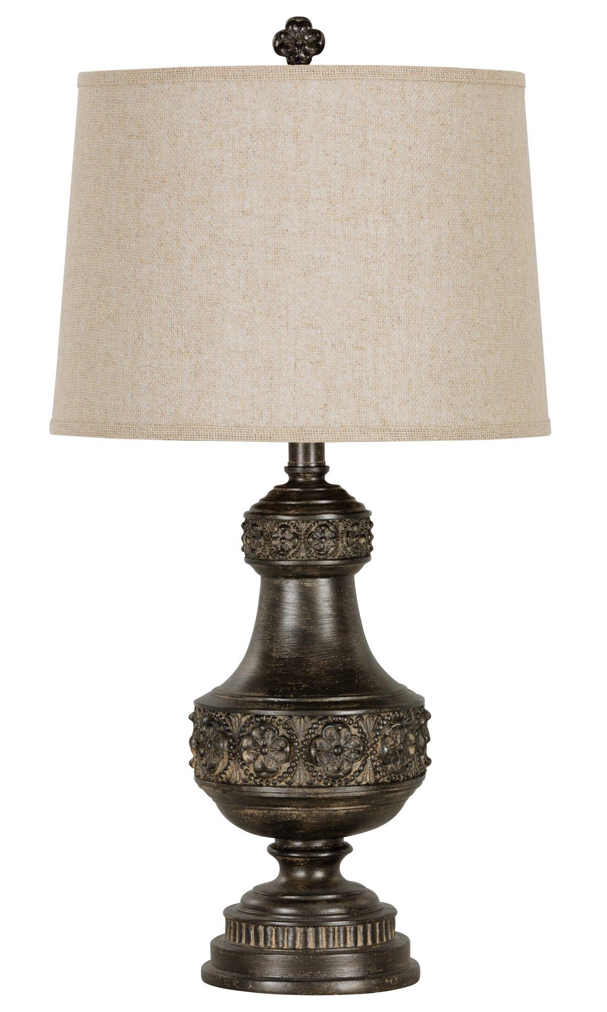 Massey Dark Brown Table Lamp