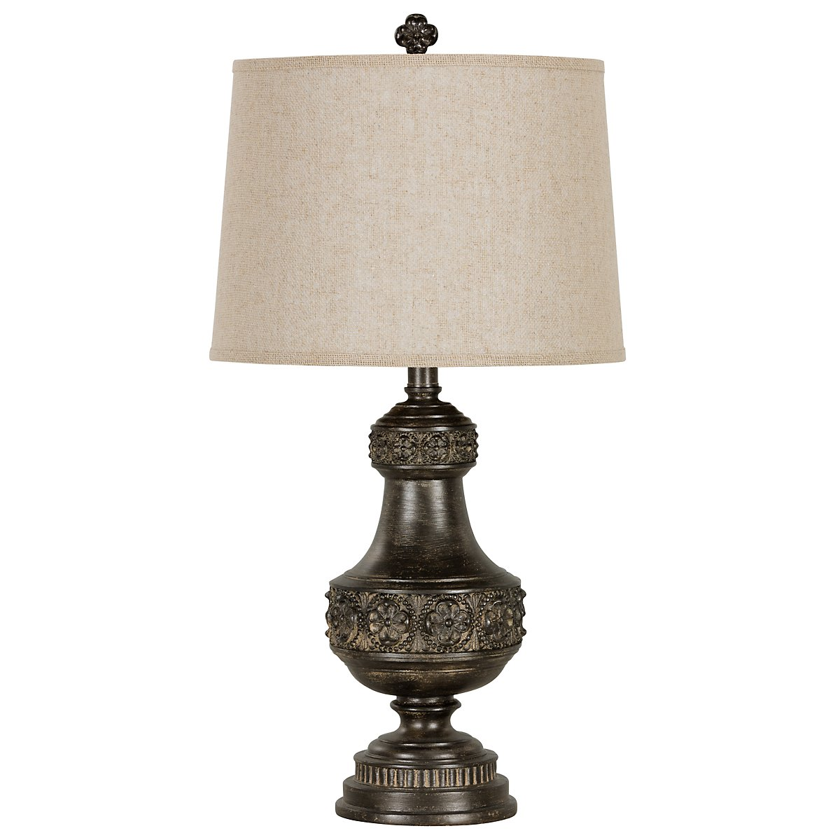 Massey Dark Brown Table Lamp