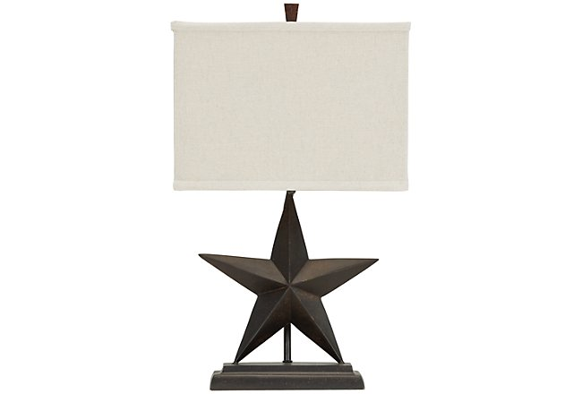 Star Bronze Table Lamp