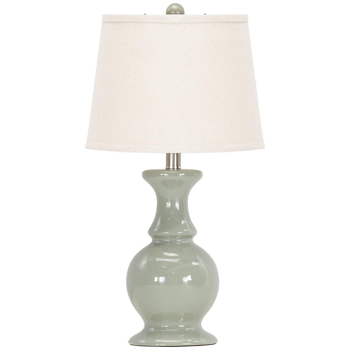 Sand Dune Light Blue Table Lamp