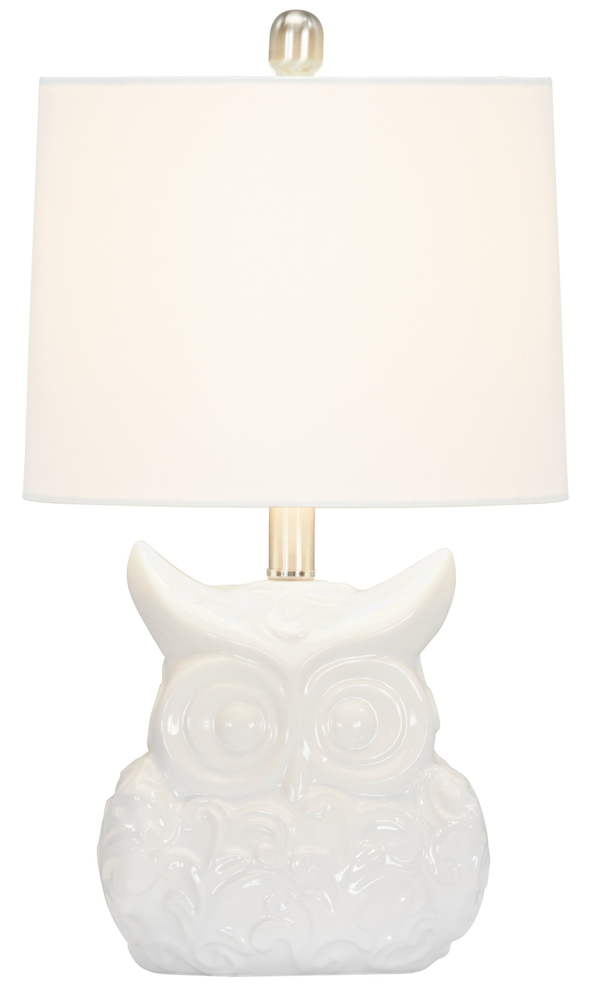 Raleigh White Table Lamp