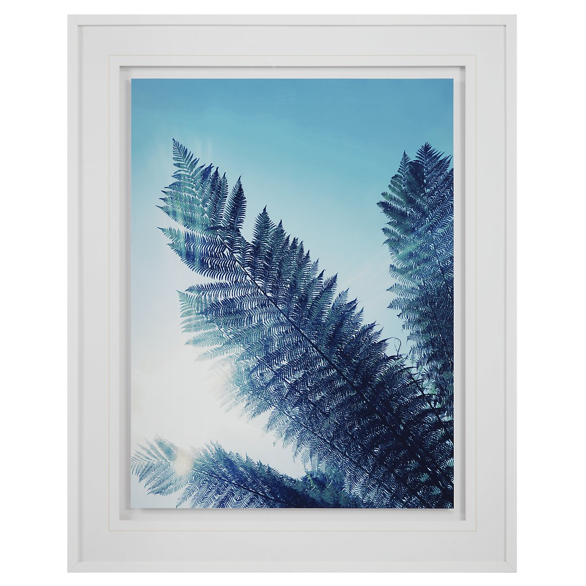 Paradise Blue Framed Wall Art